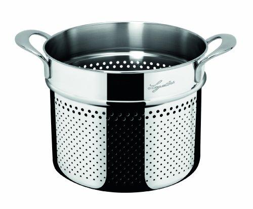 Lagostina La Pasta Set Pastaiola Pasta Pot / 22 cm / 6 Litres/Stainless Steel Img 2 Zoom