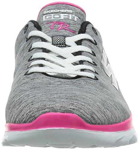 Skechers Femme Chaussures / Baskets Stellar Go Fit TR Gris