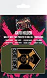 Suicide Squad Porte-Carte Bancaire pour Fans - Task Force X, Logo Crâne (10 x 7 cm)
