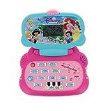LEXIBOOK - IT2000DPFRCA - Ordi Ordinateur éducatif Princess Disney - 14 activités - Formes Couleurs Lettres et nombres