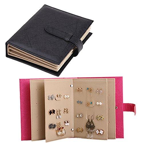 iSuperb-Pendientes-libro-piel-sinttica-joyas-studs-bandeja-de-almacenamiento-organizador-caso-caja-para-las-nias-Mujeres-Viaje-185-x-14-x-45-cm