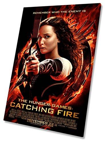 The Hunger Games Film Movie Poster Auf Leinwand, gerahmt Print 50,8x 76,2cm