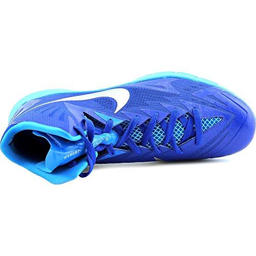 Nike Lunar Hyperquickness Tb-Basketball-Schuh-Königsblau / Silber-7.5 Game Royal/Mtllc Silver-Bl Hr