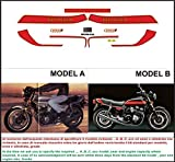 Kit ADESIVI Decal Sticker Honda CB 900 F Super Sport 1981 US (Ability to Customize The Colors)