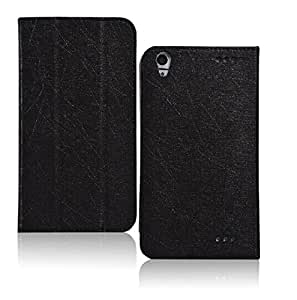 Elite Premium Flip Case Cover for HP 7 Voice Tablet Tab (Black) (Magnetic Closure)