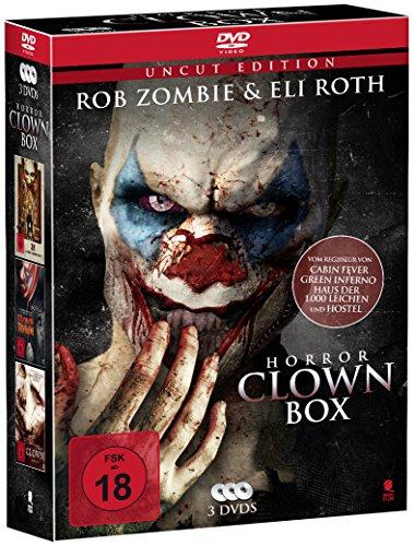 Horror Clown Box (3-Disc Set) (UNCUT) (Horror Dvd Box-sets)