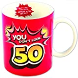 Boxer Gifts Age 50 Don't Look 50 Inside Out Mug