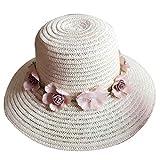 Providethebest cap Verano Viajes al AIRE Libre Flor de la Playa muchacha de Las Mujeres Sombrero de Ala ancha de paja Chica Fisher cap UV Protección Panamá