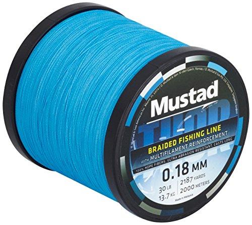 Hilo de pesca 0,18 mm Thor Braid ML018 2000 m azul, 2331218