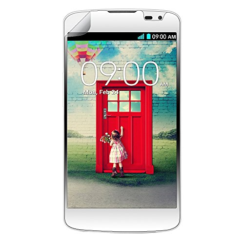 EagleCell Displayschutzfolie für LG Optimus L70 / Ultimate 2 L41C / Exceed 2 / Realm LS620, farblos