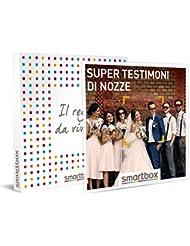 smartbox Super testimoni di Nozze, Cofanetto Regalo Donna, Uomo, Multiattività, Standard