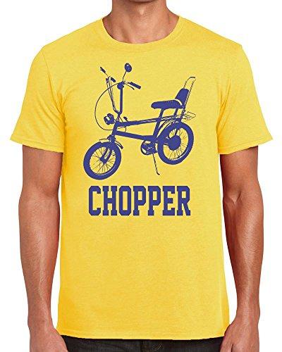 Yellow Raleigh Chopper T-shirt for Men - S to XXL