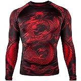 Venum Dragon's Flight T-Shirt Homme, Noir/Rouge, FR : M (Taille Fabricant : M)