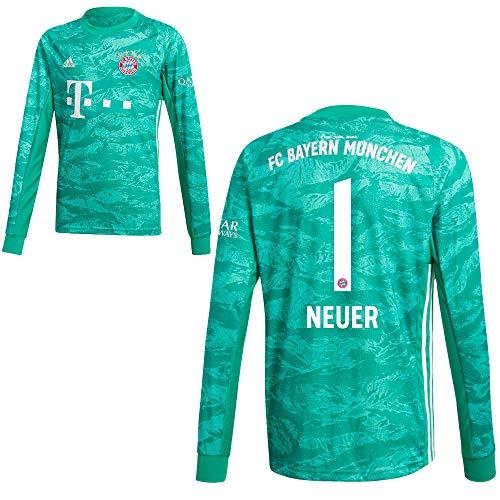 adidas FCB FC Bayern München Torwartshirt Heim Torwarttrikot 2019 2020 Kinder Neuer 1 Gr 128