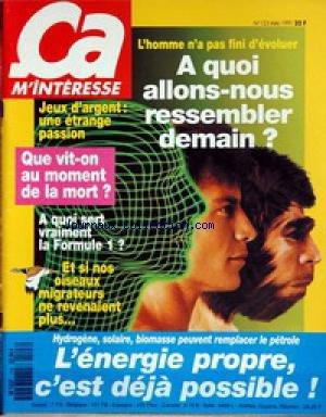 CA M'INTERESSE [No 123] du 01/05/1991