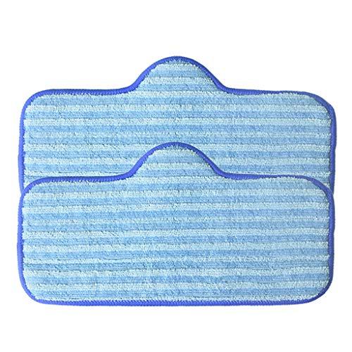 2 Pack Steam Mop (Finebuying Ersatz Zubehör Faserersatz-Mop Mikrofaser-Pads Kompatibel mit Dupray Neat Steam Cleaner Fibre Mop (2 Pack))