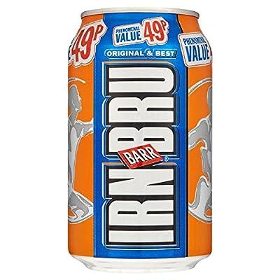 Irn-Bru Barr 330ml (Packung mit 24 x 330 ml)