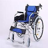 Rollstuhl Komfort Multifunktions Tragbare Falten Transport Rollstuhl Ältere Behinderte Reise Stuhl Wagon Mit Handbremse (Style : B)