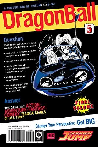 DRAGON BALL VIZBIG ED TP VOL 05 (C: 1-0-0) (Dragon Ball Vizbig Editions)