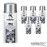 Auprotec® Conforme aux normes Base Aluminium Apprêt Alliage Aluminium Base Spray Aluminium Résiste à une chaleur de 600°C Spray 400ml
