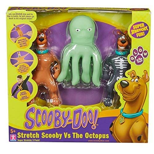 Scooby Doo Stretch Scooby Vs The Octopus Pack de 3 que...