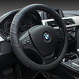 HCMAX Prämie Fahrzeug Lenkradabdeckung Auto Lenkradschutz Universal Durchmesser 38cm (15