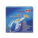 ORO 05028 ORIGINAL Geschirr Reiniger Tabs Tabletten ORO frisch aktiv 12in1 Spülmaschine Geschirrspüler