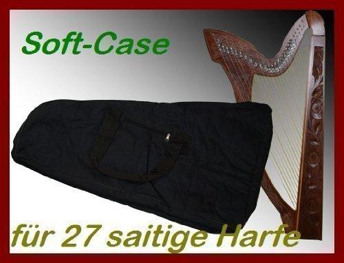 SOFTCASE FÜR KELTISCHE HARFE 27 SAITEN HALBTON