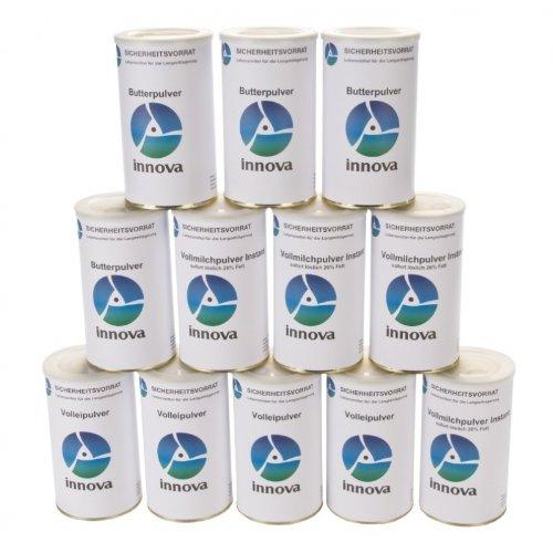 Langzeitlebensmittel als Notvorrat und Krisenvorsorge Grundnahrungsmittel - Paket 2 ALL Natural