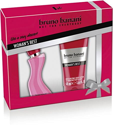 bruno banani Woman's Best EdT 20ml + BL 50ml (Frische Zitrus-lotion)
