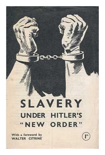 Slavery under Hitler's