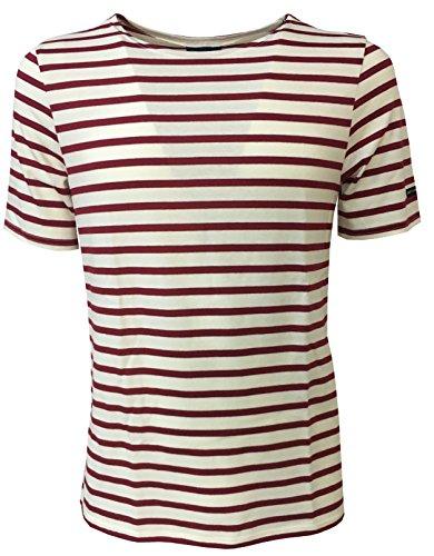 cec616ec115920 SAINT-JAMES - Camiseta - para Hombre Ecru peran Large