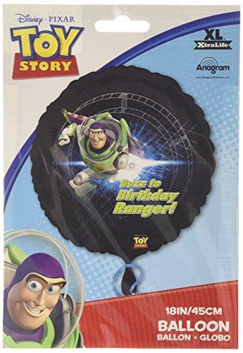 Toy Story Birthday Ranger Foil Balloons - Standard - S60