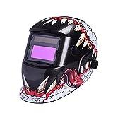 Nuzamas - Casco de protección para soldaduras que funciona con energía solar - Se oscurece automáticamente - Protección...