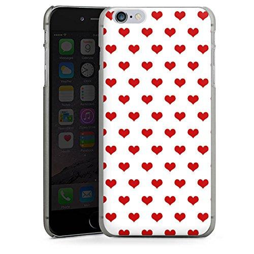 Apple iPhone 5s Housse Étui Protection Coque Polka c½urs Petit c½ur Fête de la bière CasDur anthracite clair