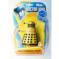 Doctor Who Gold Supreme Dalek Wave 3