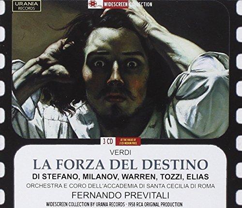 Verdi : la Force du Destin. Di Stefano, Milanov, Warren, Tozzi, Elias, Previtali.