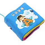 Baby Soft Cloth Book Intelligence Development Cloth Book Toys (Letters)