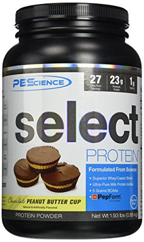 pescience-select-protein-27-servings-pre-workout-mix-peanut-butter-cup