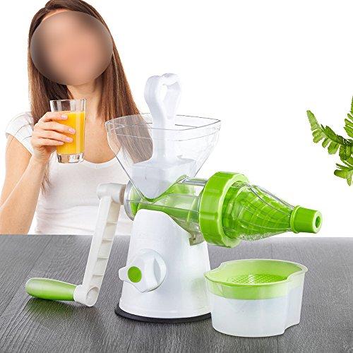 Mehrzweck manuell Saftpresse, Handkurbel Drücken für Orange, Karotte, Weizengras, Gemüse, Granatapfel, Abzugshaube Eis Maschine
