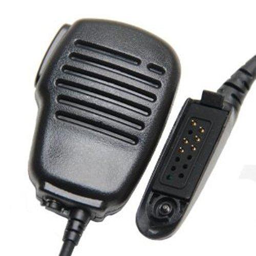 regenfeste schulter revers entfernten lautsprecher mikrofon mikrofon kompatibel für motorola gp680, gp1280 ht1250 ht1550 mt8250 mt950 ptx780 mtx 960 zweiweg radio (Ht1250-lautsprecher Mic)