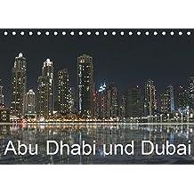 Abu Dhabi und Dubai (Tischkalender 2019 DIN A5 quer): Zwei Motropolen am Persischen Golf (Monatskalender, 14 Seiten ) (CALVENDO Orte)