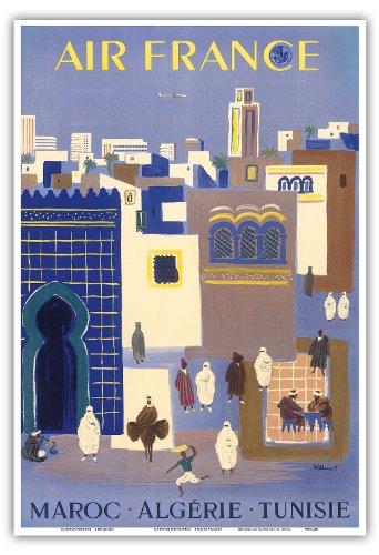 maroc-maroc-algerie-algerie-tunisie-tunisie-air-france-vintage-airline-travel-poster-by-bernard-vill