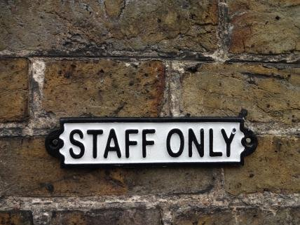 staff-only-cast-iron-sign