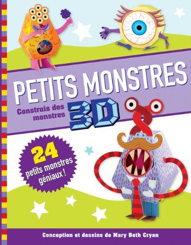 Petits monstres 3D : Construis des monstres