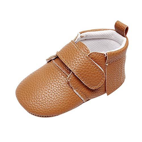 b8d63678a3ee2 Chaussures Bébé en Cuir Souple Premiers Pas Chaussons Semelle Douce Chaussures  Enfants Filles Bébés