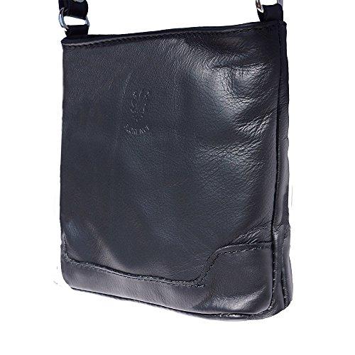 klein Schulter und Crossbody-Tasche 8685 Schwarz