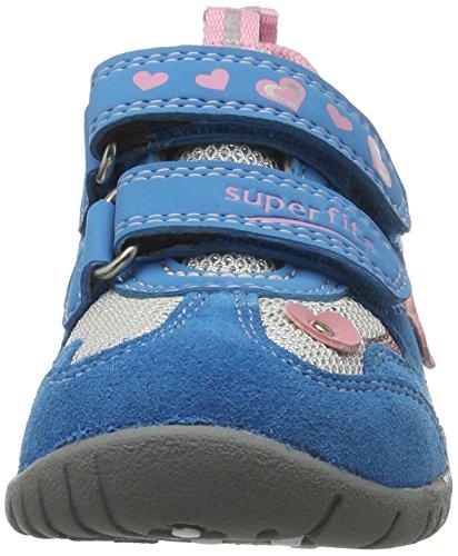 Superfit - Sport3, Scarpe da ginnastica Bambina Blau (tワrkis Kombi)