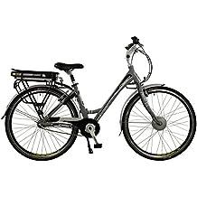 Connect Womens Lightweight Low Step 3 Speed Nexus 700C Electric Hybrid City Bike