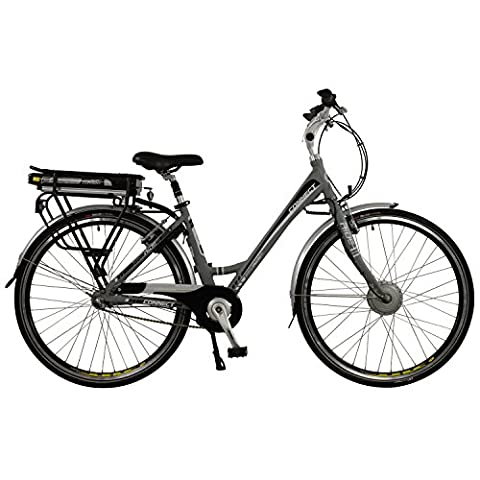 Connect Womens Lightweight Low Step 3 Speed Nexus 700C Electric Hybrid City Bike